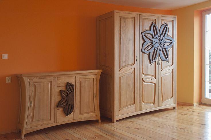 3182 meble drewniane do sypialni szafa