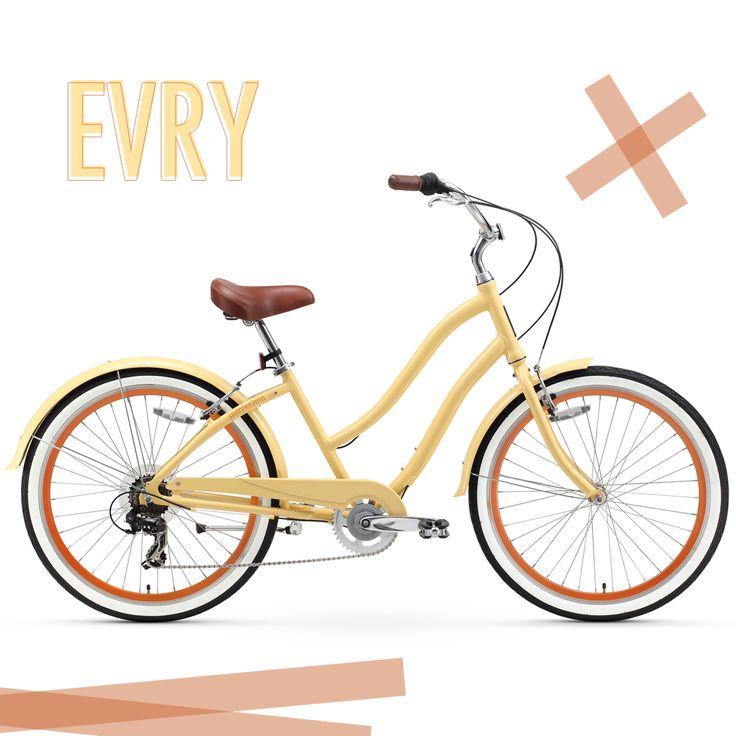 sixthreezero EVRYjourney Hybrid Beach Cruiser | Cream
