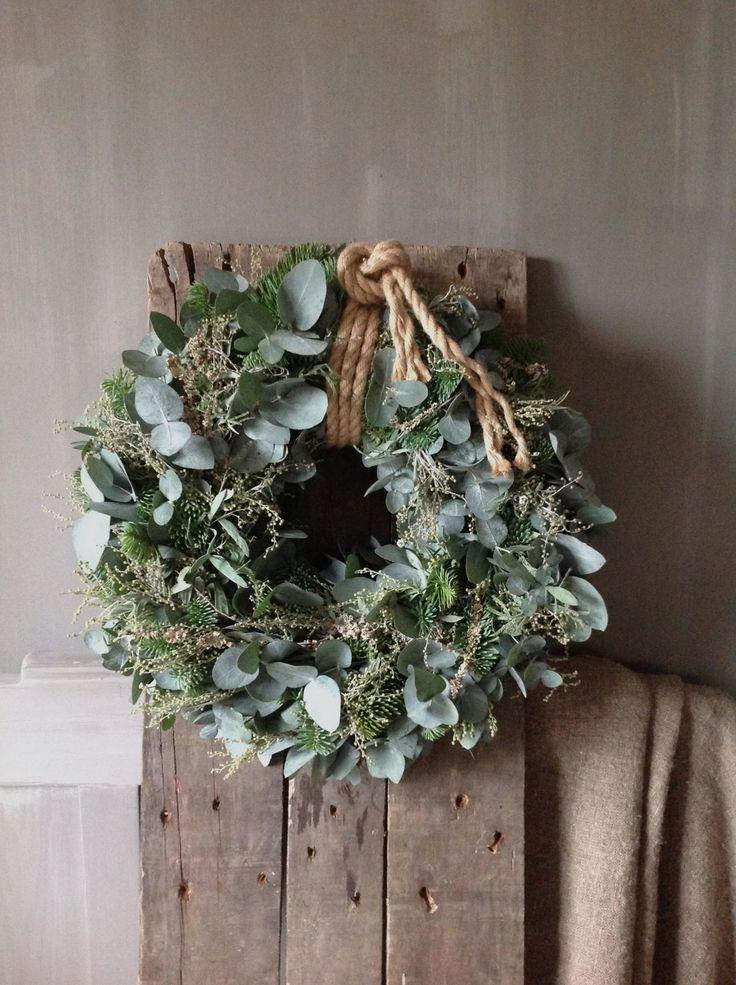 Christmas wreath- natuurlijke kerstkrans