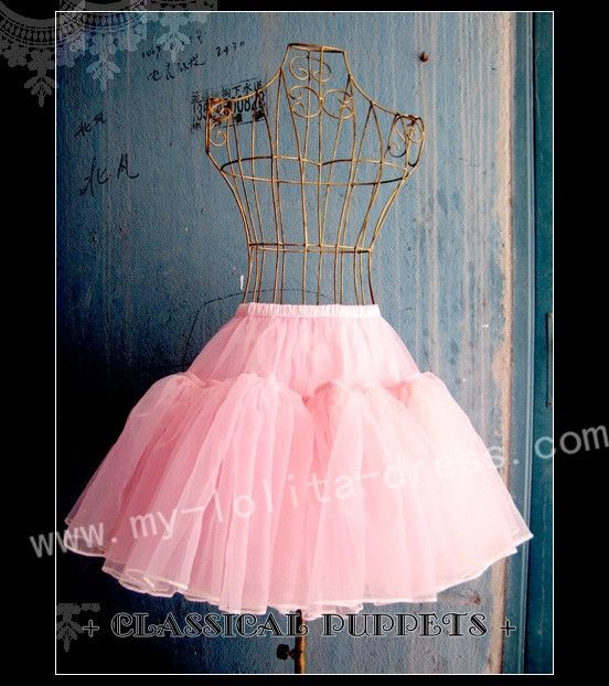 Classical Puppet Bell Shape Daily Wear Petticoat