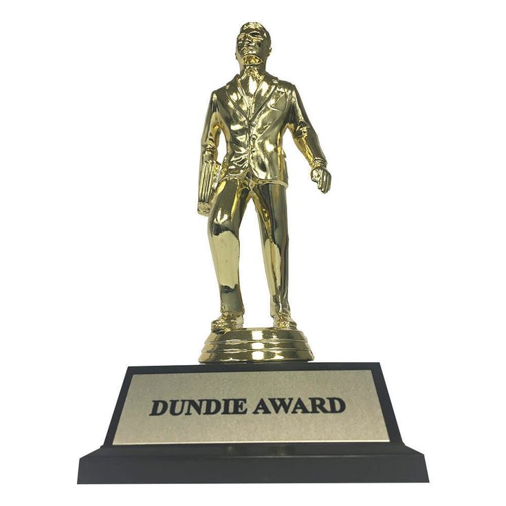 Dundie Award The Office Trophy Michael Scott Dunder Mifflin Paper Company Dundies TV Show Gift Prop Pam Dundee Dundees Dundy High Quality by AcePlaceStudios on Etsy https://www.etsy.com/listing/504353480/dundie-award-the-office-trophy-michael