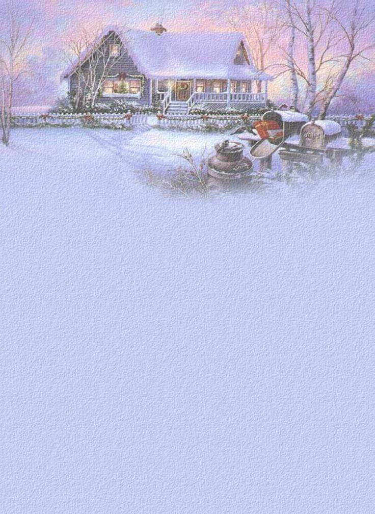 Die besten 25 briefpapier weihnachten ideen auf pinterest umschlag weihnachten basteln - Winterliche bilder kostenlos ...