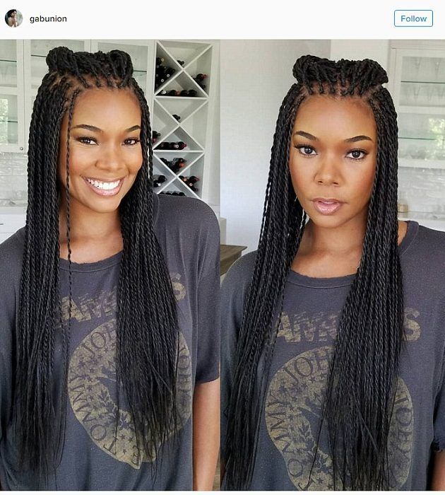 Gabrielle Union Looks So Young in Braids It Literally Makes No Sense. How Sway?! - Lisa a la mode