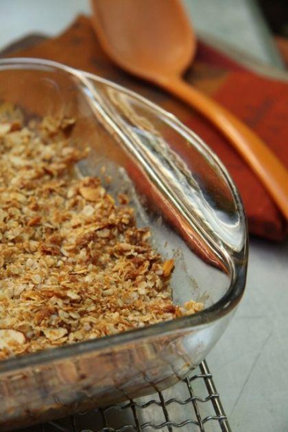 News - Croustade aux pommes (sans gluten, sans lactose)