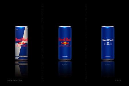 Minimalist Red Bull