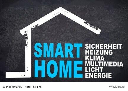 Wie das Smart Home die Sicherheit maximiert   Kontrolle der Sicherheit für technische Geräte im eigenen Zuhause. Die Überwachung schützt.