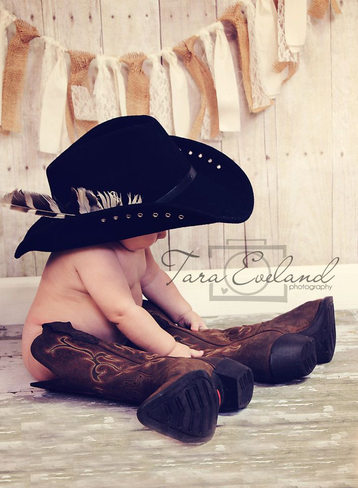Six months old Cowboy/ Country inspiration