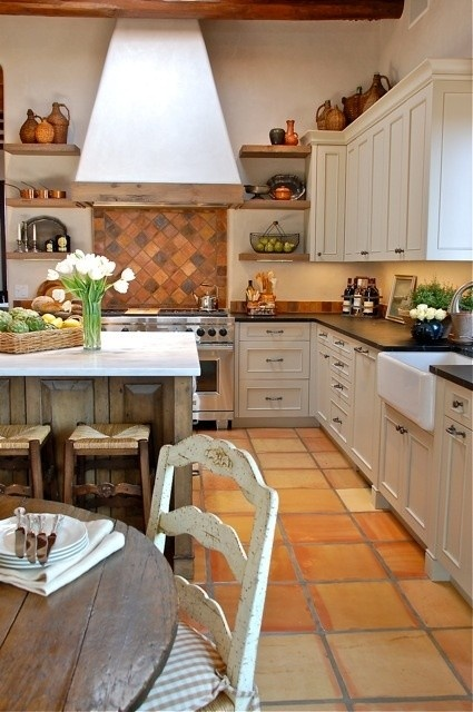 10 Best Images About Barn House Kitchen Terra Cotta Floors
