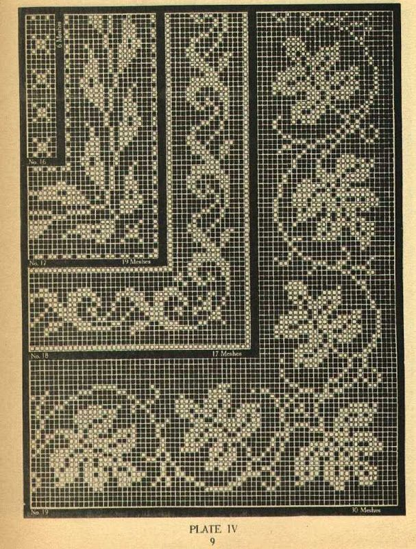 Filet Crochet vol. 1