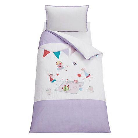Buy little home at John Lewis Fairy Tea Party Children's Duvet Cover and Pillowcase Set, Multi Online at johnlewis.com