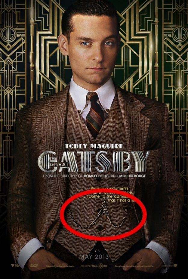 The pocket watch. | 12 Gentlemen's Fashions From The Great Gatsby That Are Back