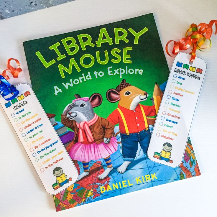 FREE colorful, creative bookmarks are an excellent incentive to encourage students to pick up a book. Suggesting unusual places to read, makes reading exciting and fun. Reading with someone gives the student provides positive feedback, encouragement and praise. Everyone loves the satisfaction that comes with checking off a list! Get reading!