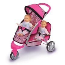 7 of the Best Accessories for Baby Dolls: GRACO Trekko Double Stroller