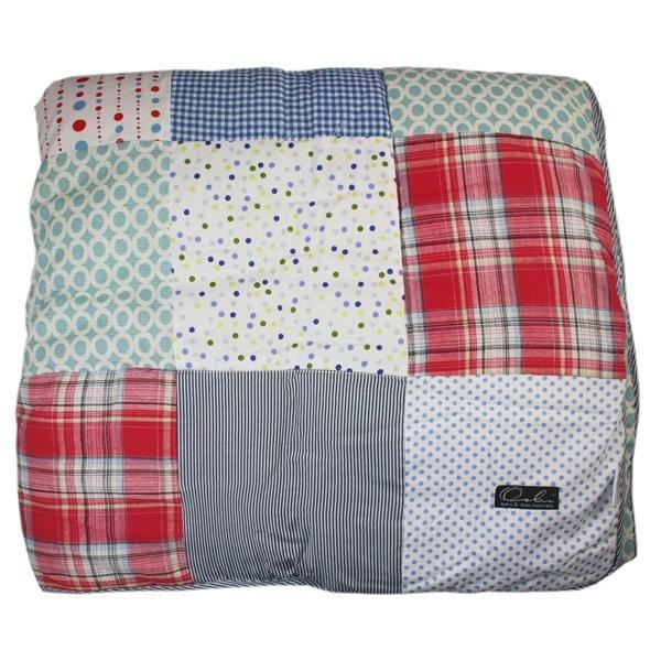 Oobi Patchwork KS bedspread - summer boy