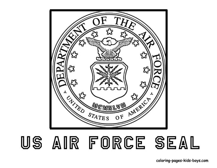 US Air Force Seal Veterans day