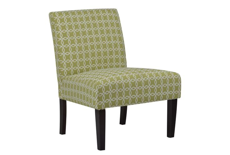 The green Vera Citron Accent Chair is a bargain at under $100