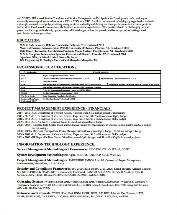 Cyber Security Analyst Resume Security Resume Job Resume Samples Resume Template Professional