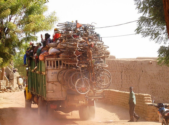 Cheapest ride to Mopti by Staffan on Flickr