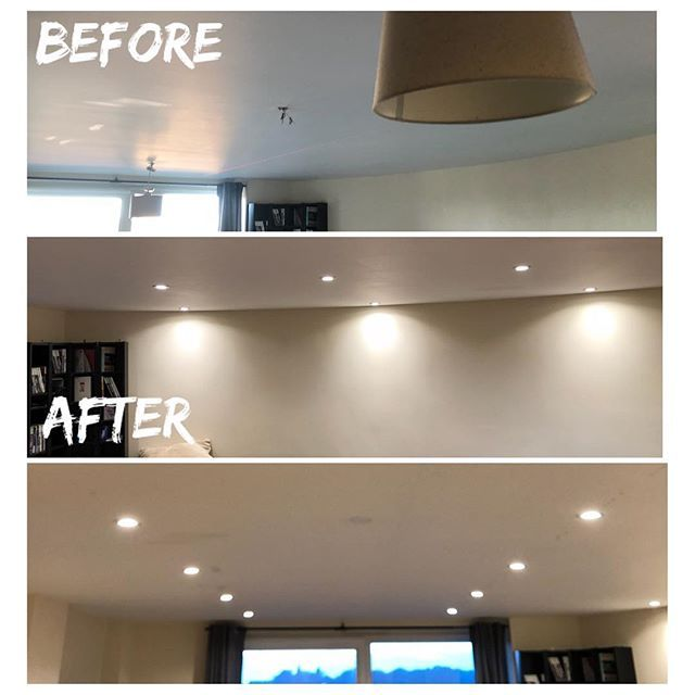 Old pendant roses gone, new LED downlighters installed⚡️💡 #lighting #lightingdesign #lightfittings #lights #lightinspired #lightfitting #lightfittings #luxuryhomes #homedecor #homeinspo #pins #houseideas #firsthome #homeinterior #livingroomideas #houserenovation #housegoals #newhome #homedecor #camberley #surrey #hampshire #electrician - posted by Paul Symons https://www.instagram.com/pinselectrical - See more Luxury Real Estate photos from Local Realtors at https://LocalRealtors.com/stream
