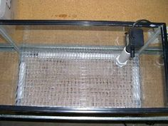 under gravel filter DIY project ... doesn't have to be for a salt water aquarium.