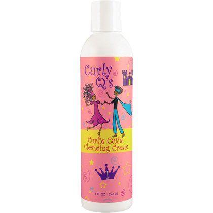 Curly Q S Curlie Cutie Cleansing Cream 8 Oz Curly