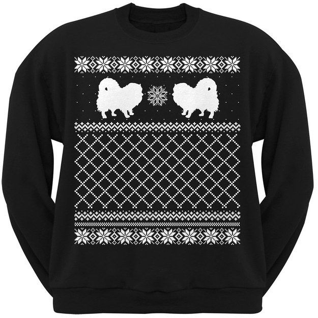 Pom Christmas Sweater, $25   17 Gifts For People Who Love Pomeranians More Than Humans
