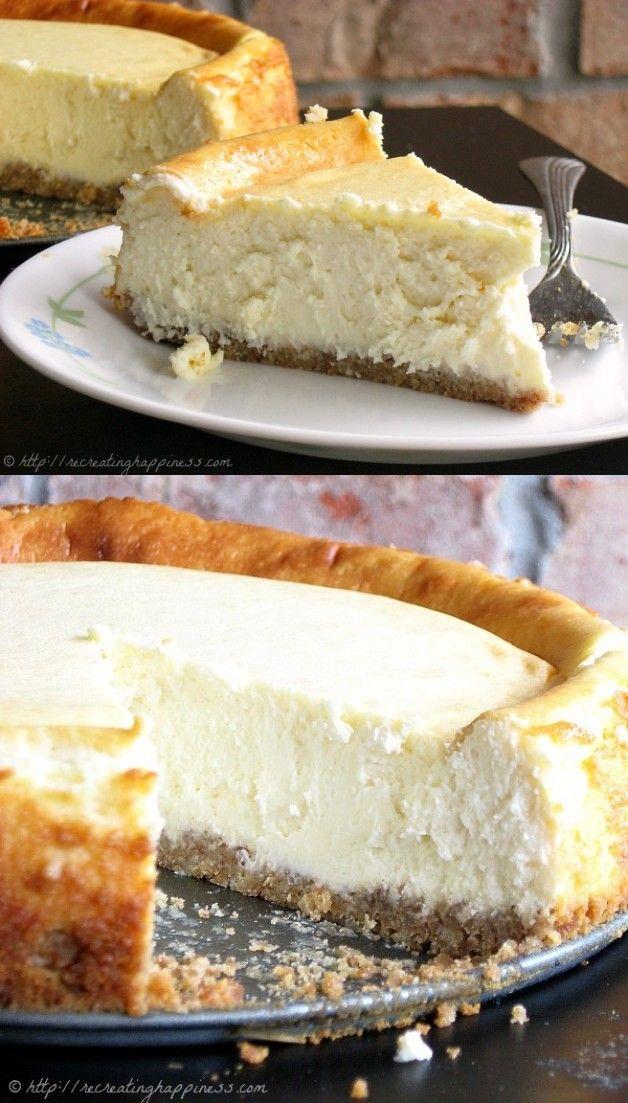 The Best Sour Cream Cheesecake Recipe Sour Cream Cheesecake Cheesecake Recipes Sour Cream Cake
