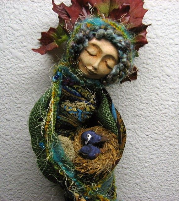 Art Therapy: Sharing Directives: Spirit Dolls