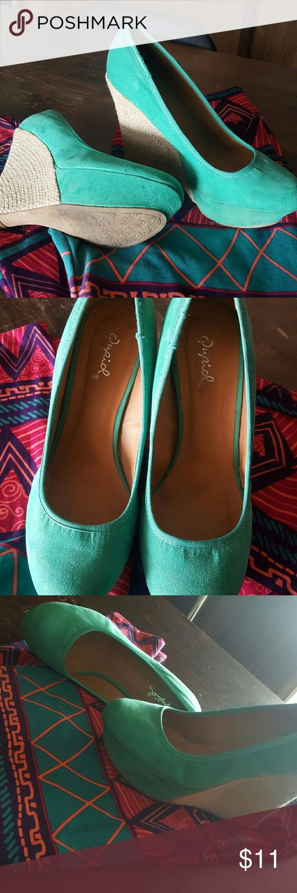 25 best ideas about teal wedges on turquoise
