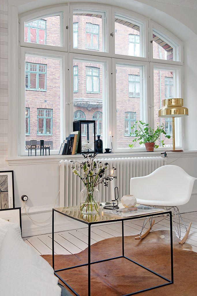 Renovated 1890's tiny Swedish apartment