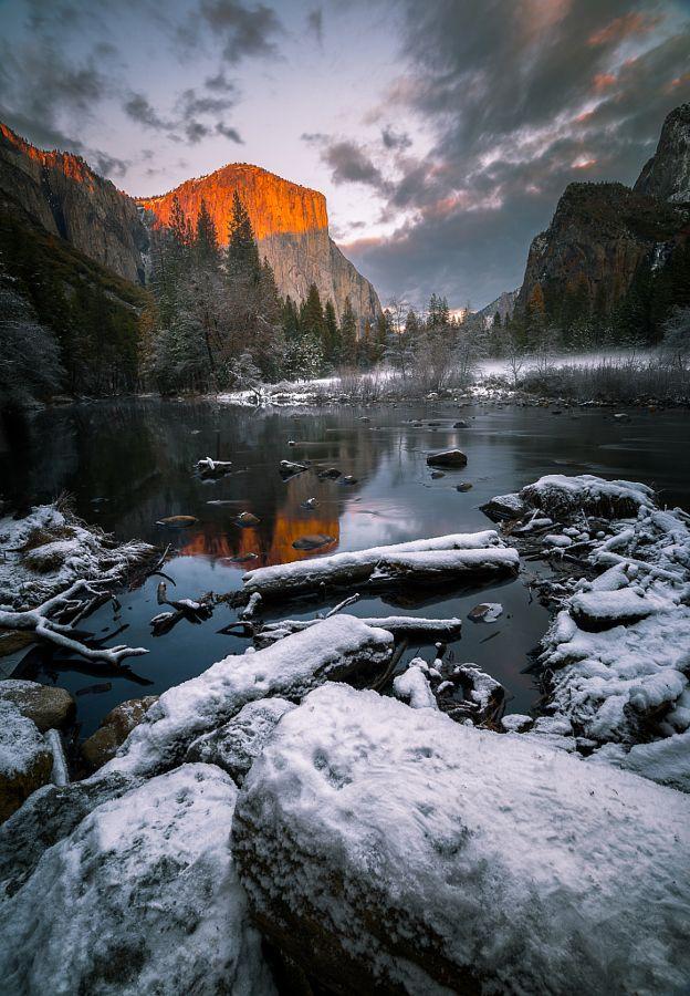 El Capitan Yosemite California by FEROZ RAHEL