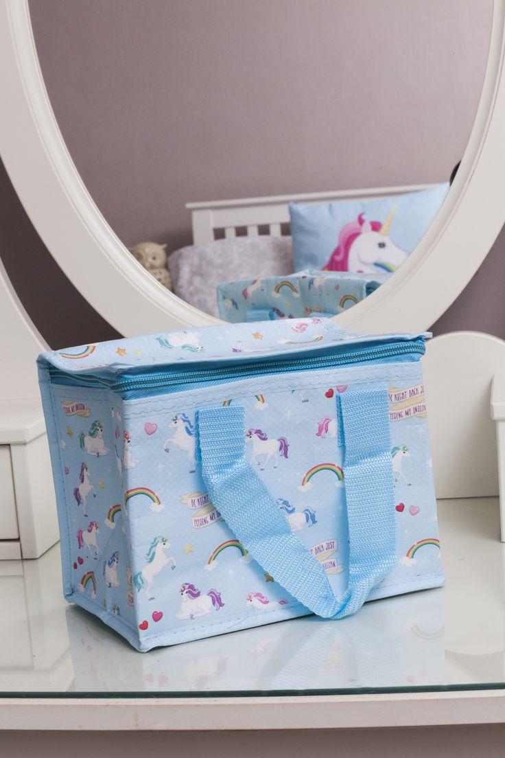 Praktická a stylová chladící taška pro vaše pikniky! #coolbox #piknik #unicorn