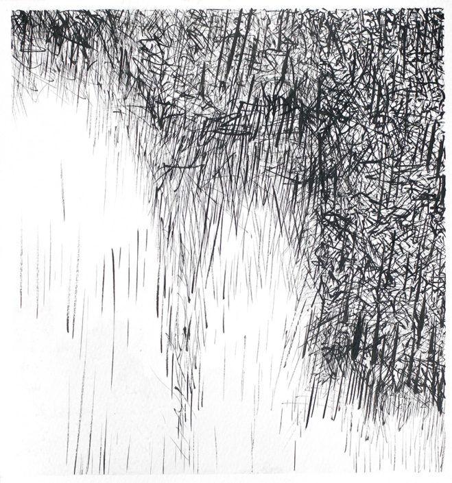D13023   Ink, paper   21 x 19 cm   2013