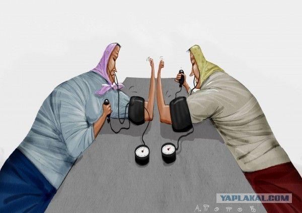 Карикатуры Андрея Попова
