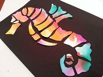 Ocean Crafts, Coral Reef Crafts