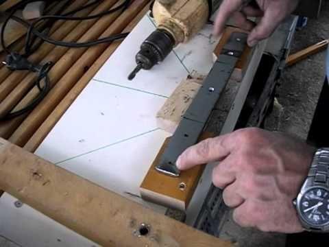 Cómo hacer una Ingletadora casera con sierra circular (II) Así se puede ...