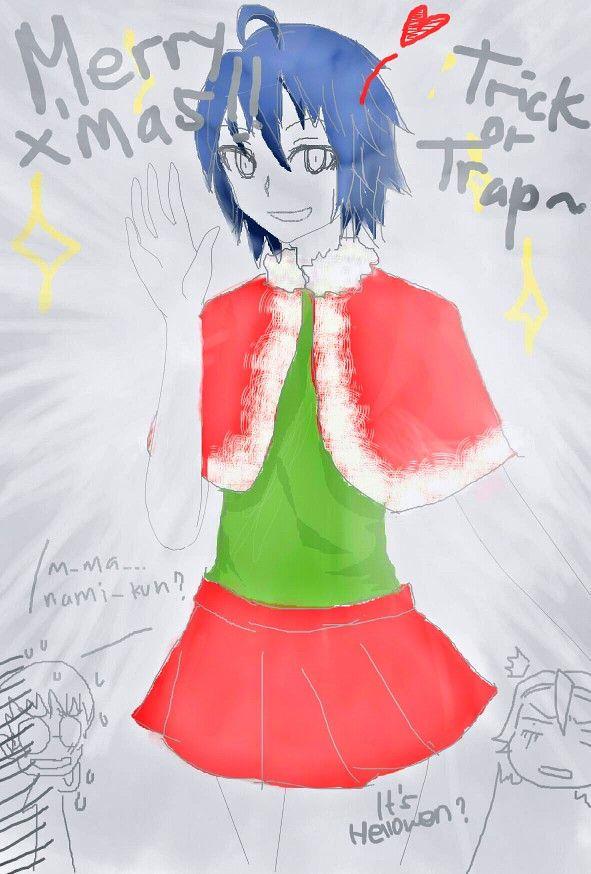 So, I'm bored and draw this xD hahahaha sorry.. But I can't stop laughing-   #manami #yowamushipedal