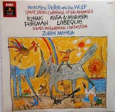 Prokofiev* / Saint-Saëns*, Itzhak Perlman, Katia & Marielle Labèque*, Israel Philharmonic Orchestra, Zubin Mehta - Peter And The Wolf / Carnival Of The Animals: buy LP at Discogs