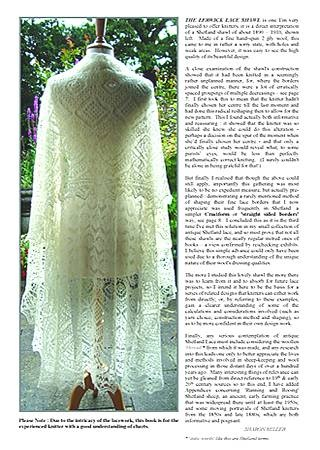 The Lerwick Lace Shawl ~ A Study in Knitted Lace Design ~