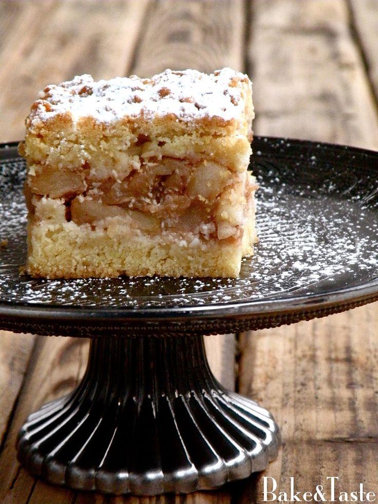 Bake&Taste: Szarlotka z migdałami Polish apple pie with almonds