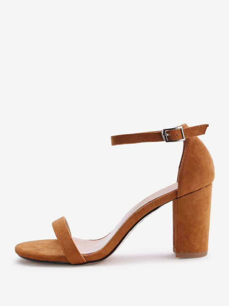 Shop Two Part Block Heeled Sandals online. SheIn offers Two Part Block Heeled Sandals & more to fit your fashionable needs.