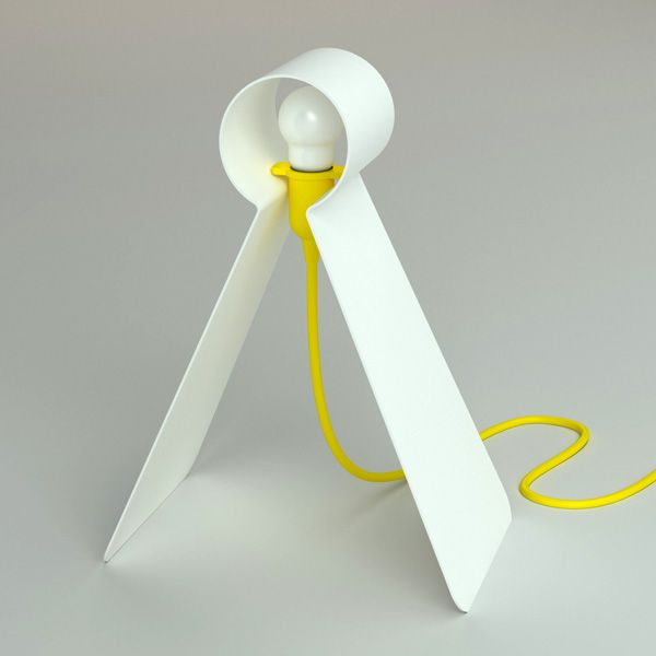 Futuristic tweety table lamp design
