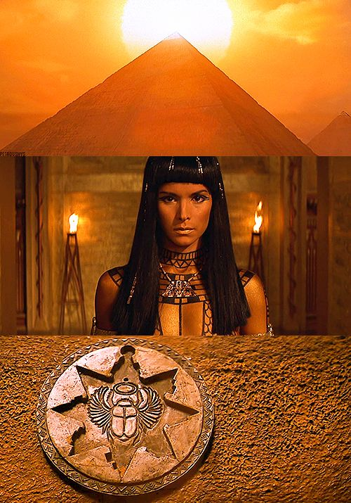 The Mummy 1999. I used to watch this film and the sequel a lot and I still love them. It started my interest and slight obsession with Ancient Egypt. Fun,  adventure film.