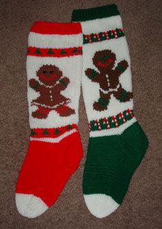 Mary Maxim Knitted Christmas Stockings   Christmas Sto ...