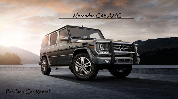 The Power of SUV - #MercedesG63AMG   Rent #Mercedes #G63 #AMG from #ParklaneCarRental  Visit www.parklanecarrental.com