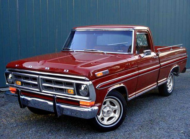 1971 F100