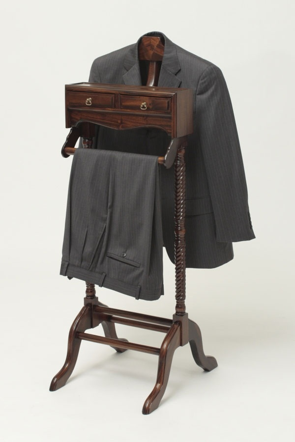 Men 39 S Valet Stand Practical And Mahogany Clothes Valets 4 Xbshaberdashery Pinterest