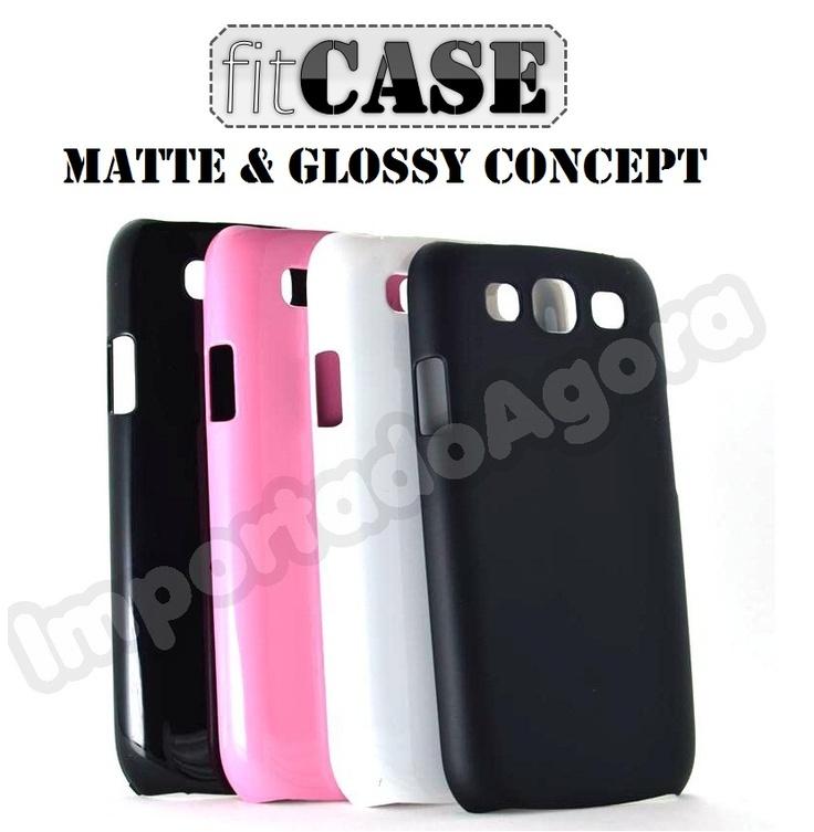 Capa fitCase Rígida Glossy Concept Samsung Galaxy S3 i9300 - Para mais informações clique na imagem :)