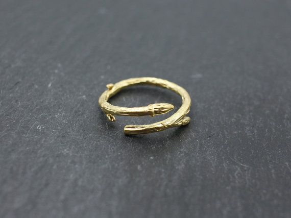 Adjustable Branch ringgold/silver ringleaf ringbranch by MYLB