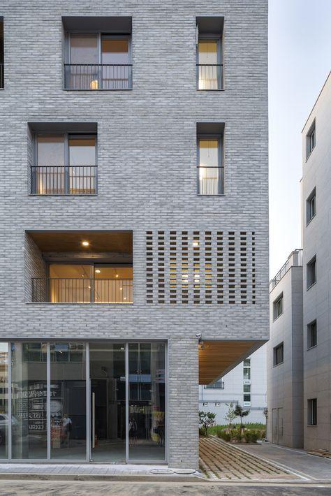 Galerie des Guwol-Mehrfamilienhauses und der Gewerbegeschäfte / Seoga Architecture – 13